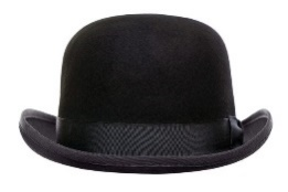 Image result for bowler hat