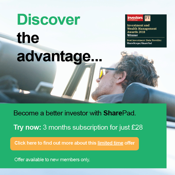 SharePad offer advert 2019