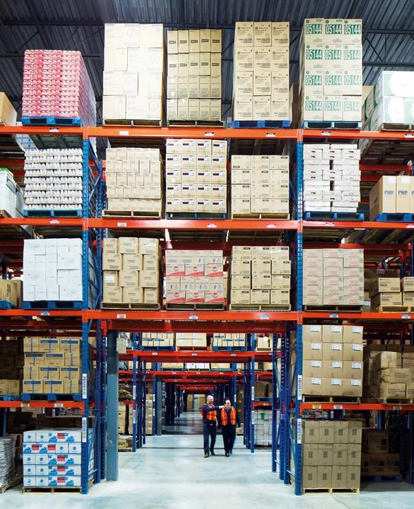 BNZL warehouse