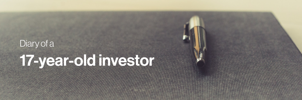 Diary of a 17 year old investor header image