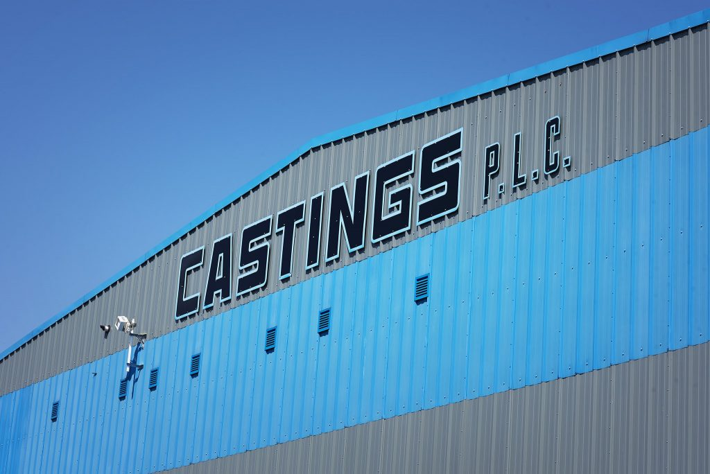 Exterior image of Castings PLC