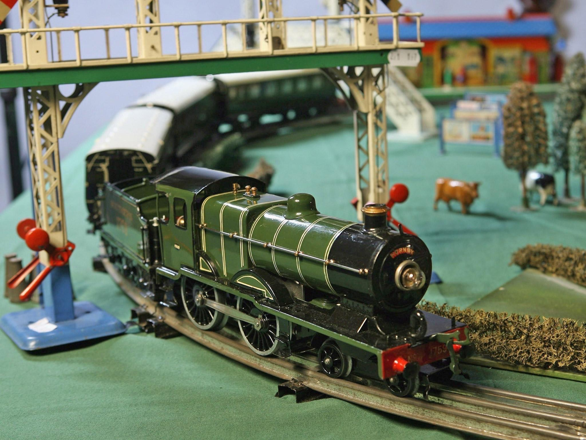Should you buy Hornby shares? Pictured: a model train by specialist manufacturer Hornby.